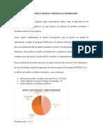 TÉCNICAS PARA EL PROCESO Y ANÁLISIS DE LA INFORMACIÓN