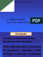 PRECIPITAÇÕES  - PRONTO