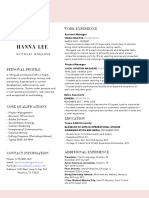 express copy of resume hannalee