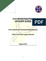 310th ESC 15-6 Guide