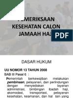 Pemeriksaan haji_