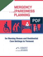 Emergency Preparedness Planning.- Vermont 428874 7