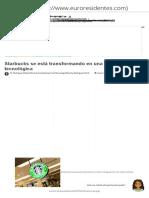 Starbucks se está transformando en una empresa tecnológica - Noticias Internet.pdf