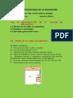 Capitulo Vi Tecnologia de La Soldadura 2019-II