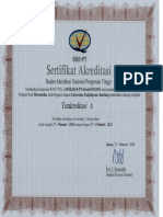 01-Akreditasi Prodi S-1 Matematika UNPAD