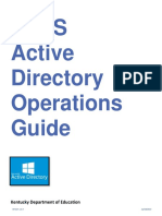 KETS Active Directory Operations Guidev1.0.3