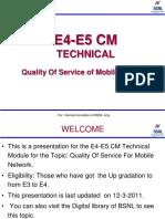 E4-E5 CM (QoS)