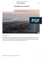 Airport and Runway Lighting Systems Explained