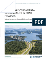 Improving Environmental Sustainability in Road Projects
