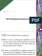law and procedure (TDS,TCS APT)