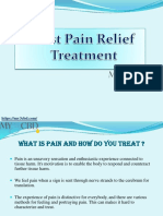 Best Pain Relief Treatment