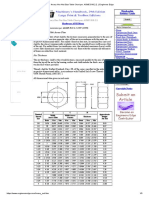 Heavy Hex Nut Size Table Chart per. ASME B18.2.2. _ Engineers Edge
