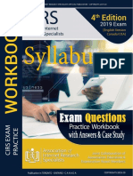 Web Research Training Preparation Workbook Syllabus