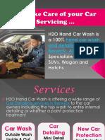 H2O Hand Car Wash & Car Detailing service in Berwick