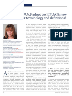Should the Epuap Adopt the Npuaps New Pressure Ulcer Terminology and Definitions