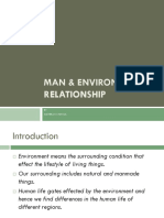 Man and Environment Ppt