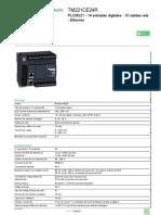 Logic Controller - Modicon M221_TM221CE24R