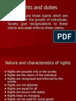 Rights human rights