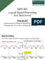 EEO 401 Note Set 27