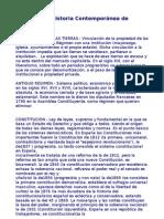 Terminos Historia Segundo Bachiller