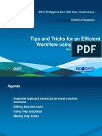 Tips and Tricks for an Efficient Workflow Using ArcGIS 101