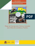 PG3 - 0 Pliego de Prescripciones Tecnicas Generales