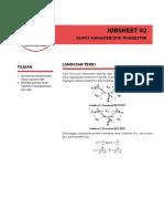 jobsheet 02 - kurva karakteristik transistor