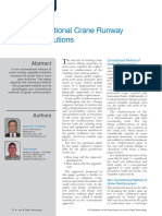 Non-Conventional Crane Runway