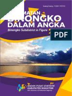 Kecamatan Binongko Dalam Angka 2019