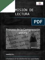 DESARROLLO DE LA COMPRENSION LECTORA