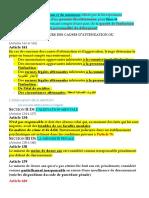 Responsabilité Pénale Et Individualisation de La Peine (2018/2019)