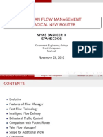 ANAGRAN FLOW MANAGEMENT A RADICAL NEW ROUTER