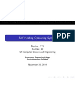 Self Healing Operating System