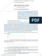 Lei Nº 13.954, De 16 de Dezembro de 2019 - Dou - Revista Sociedade Militar