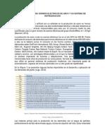 ELECTRODOS Y SISTEMA DE REFRIGERACION
