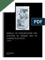 Manual de Conexión de La Estación Analógica de FESTO Con Codesys