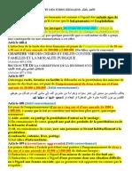 Traite Des Être Humains, Prostitution Et Corruption de La Jeunesse en droit pénal marocain (2018/2019)