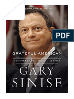 [2019] Grateful American by Gary Sinise | A Journey from Self to Service | Thomas Nelson