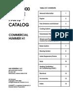 Hummer 1999-2000 Каталог