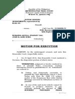 1 Motion Execution Aguila 1.doc