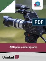 Curso de camarógrafo 1