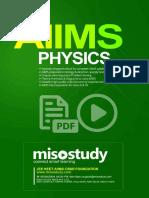 AIIMS  Physics Sample eBook