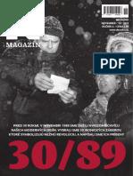 November 1989 - magazín Denníka N