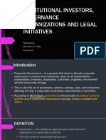 INSTITUTIONAL INVESTORS, GOVERNANCE ORGANIZATIONS AND LEGAL INITIATIVES.pptx