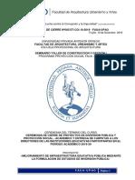 Informe Acta de Cierre Curso - Periodo 2019-10 - Gt