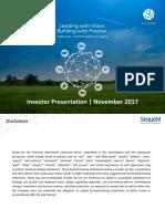 Investor Presentation November 13, 2017.pdf