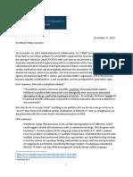 Open Letter to FDA on Its Response to MRC's Citizen Petition RE the Vascepa SNDA
