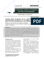 Analytical method development and its application to extractive spectrophotometric determination of Co (II) using 1, 2-Propanedione, 1-phenyl-1-(2-hydroxybenzylideneazine) -2- oxime (PDPHBAO).