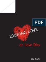 Jalal Toufic, Undying Love, Or Love Dies