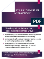 Lesson 2 the Society as Drivers of Society